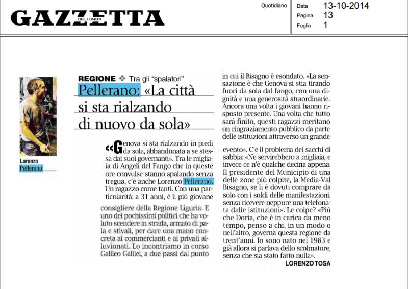 pellerano gazzetta 14.10.2014